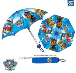 Зонты детские Sun City, складные Щенячий Paw Patro