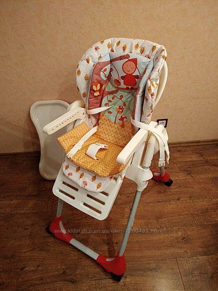 Детский стульчик для кормления Сhicco Polly 2в1