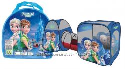 Палатка детская с тоннелем Frozen M 3312