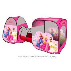 Палатка 2959 Принцессы с тоннелем, для девочки