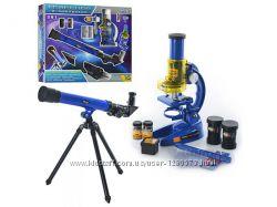 Набор детский Микроскоп и телескоп CQ-031