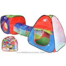 Палатка детская игровая с тоннелем 999-148