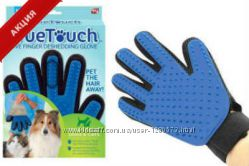 True Touch Тру Тач Перчатка Для вычесывания шерсти домашних животных