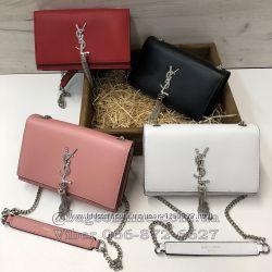 Клатч Yves Saint Laurent - сумка Ив Сен Лоран - Ів сен шкіра - YSL кожа 90faff73808