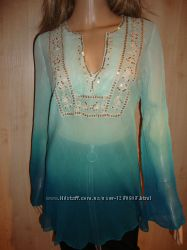 Блузки 100 шелк невесомые.