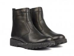 Новые зимние кожаные ботинки, сапоги 30 31 32 33 34 35