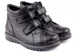 Кожаные демисезонные ботинки Braska 31 32