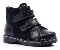 Новые зимние кожаные сапоги 28 29 30