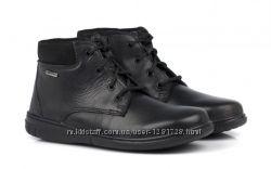Новые кожаные деми  ботинки. Waterproof 31 33