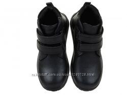 Новые демисезонные кожаные ботинки 29 30