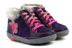 Новые демисезонные ботинки Clarks 22 23 24
