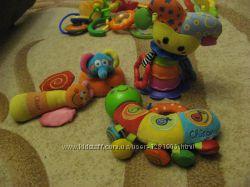 Игрушки chicco, plaugro, Canpol babies и другие