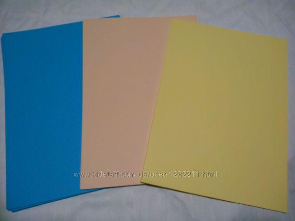 Бумага цветная двухсторонняя
