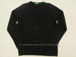 Теплая кофта Benetton базовый гардероб   - 6-8 лет .