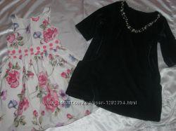 Очаровательное, нарядное платье для маленькой моднице  NEXT
