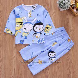 Детские пижамы, домашние костюмчики, яркий рисунок