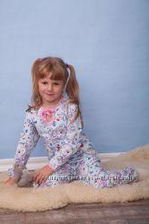 Пижама девочка на завязках