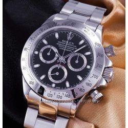 Наручные часы Rolex Daytona silver black