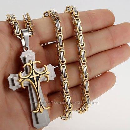 Комплект Dominik  цепочка  крест