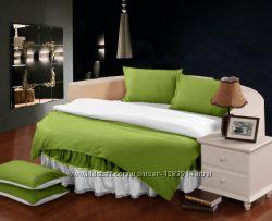 Постельное белье и принадлежности на круглую кровать