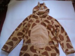 Карнавальный новогодний анимационный костюм жирафа для взрослых