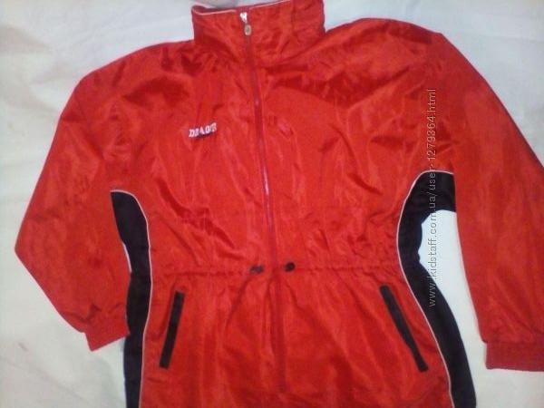 Куртка ветровка унисекс dragon sport 16-18&92xl-xxl размер с капюшоном