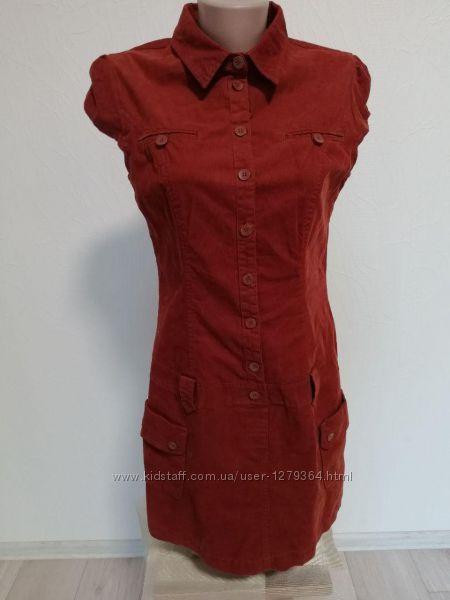 Оригинальное женское вильветовое платье pimkie размер м-10-38