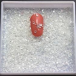 Стразы для декора ногтей, 500 шт. в упаковке, размер 2 мм