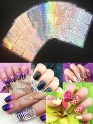Трафареты для дизайна ногтей