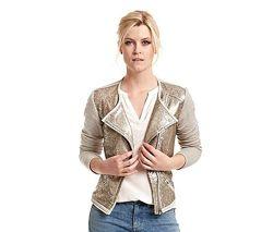 Эффектный жакет, легкая куртка с пайетками от TCM Tchibo, р. 38 евро, 44 на