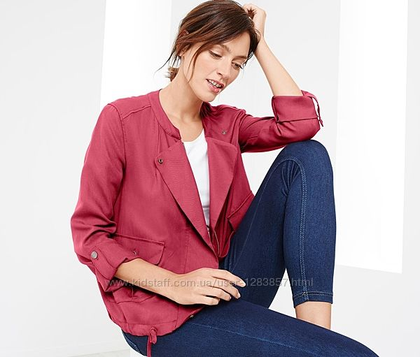 Легкая куртка, блузон в стиле casual от TCM Tchibo, р. 40 евро, 46-48 наш