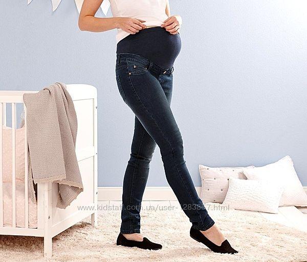 Удобные качественные джинсы для беременных от TCM Tchibo, р.38 евро, 44 наш