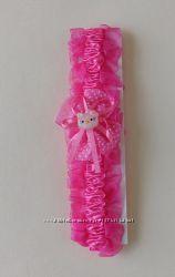 Детский ободок розовый Китти