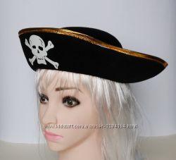 Шляпа пирата, треуголка, бондана, Джэк Воробей