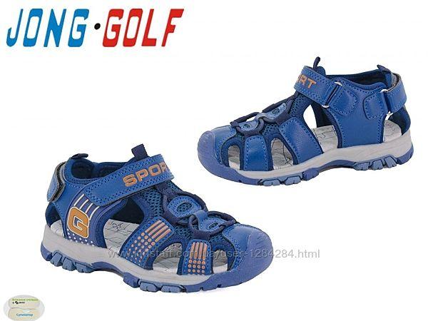 Детские босоножки для мальчика тм Jong Golf с резиновым носком рры 26- 36
