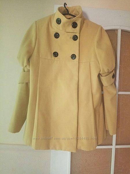Женское демисезонное пальто для беременных