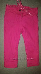 брюки на тонком флисе на 2-3года