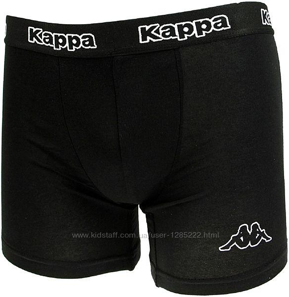 Трусы боксеры Kappa Италия. Размер S. Черные. Мужские.