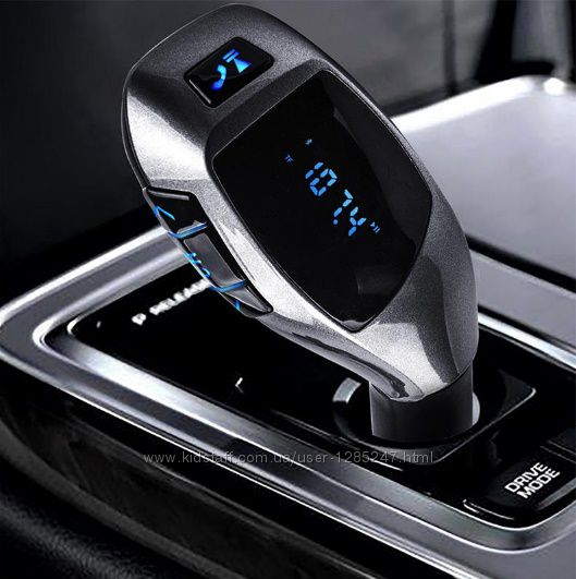 Bluetooth FM модулятор X5, USB, microSD, блютус, громкая связь