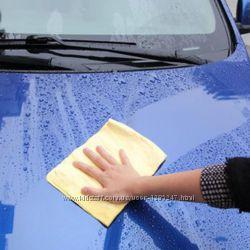 Салфетка автомобильная влаговпитывающая в тубе 43 х 32 см