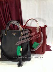 Женская сумка Prada -Прада в наличии. Комплект 2 в 1
