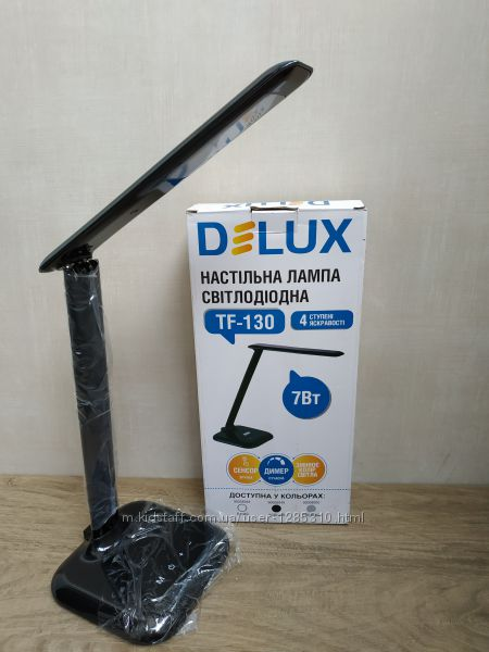 Настольная лампа delux tf-130