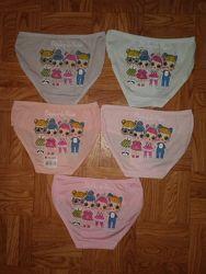 Трусики на девочку 2 - 6 лет