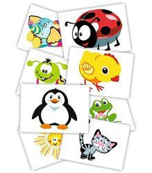 Цветные контрастные картинки для детей от 2-3 месяцев