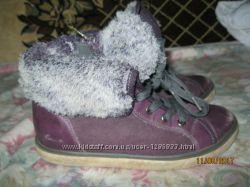 ботинки CLARKS р. 1 стелька 21, 9 см-22 см