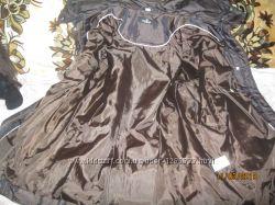 куртка темно- коричневая, демисезонная р. 52-54