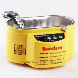 Ультразвуковая ванна мойка KAISI K-105 двухрежимная 60W для чистки золота