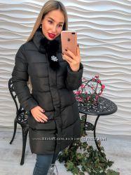 Женская зимняя куртка. Фабричный Китай. Модель этого года.
