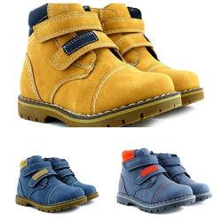 Зимние ботинки на липучках для мальчика Apawwa. , 608894, 19