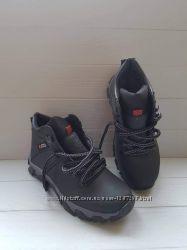 Ботинки зимние ECCO Спорт высокие кожа Black 40-46рр р. , 13